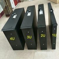 Accesorios de la caja de vuelo 1U/2U/3U/4U cajón de armario estándar de 19 pulgadas cajón