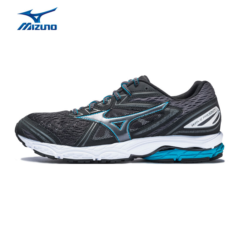 MIZUNO Men WAVE PRODIGY Running Shoes Wearable Anti-Slip Sports Shoes Breathable Cushion Sneakers J1GC171052 XYP651 кроссовки mizuno wave precision 13