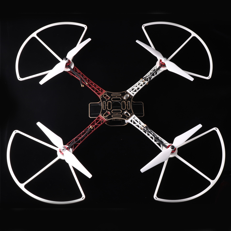 US $8 83 7% OFF|F450 F550 Propeller Protector 7 13'' Propellers Guard 4  Axis DIY Quadcopter 1045 Props Guard for S500 S550 Helicopter RC Drone-in  Prop