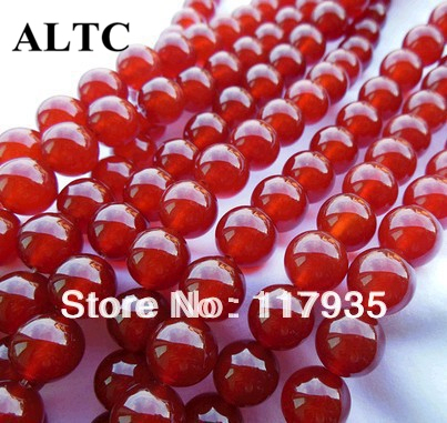 6-12mm Onyx Red Beads Natural Stone Beads Carnelian Beads For Jewelry Making Round Stone Loose Beading Wholesale