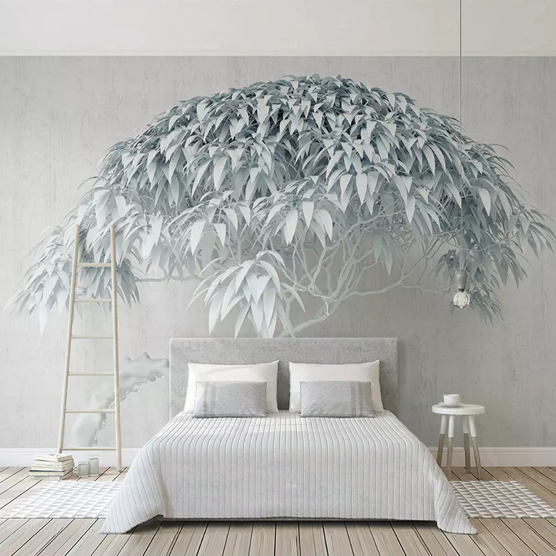 Custom Mural Wallpaper For Walls Roll 3D Abstract Tree Art Photo Wall Papers Home Decor Living Room Bedroom Wall Painting Decor