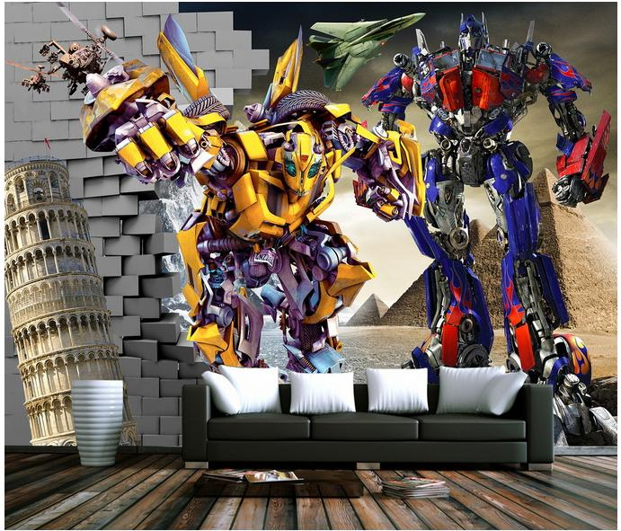 popular transformers wall murals buy cheap transformers