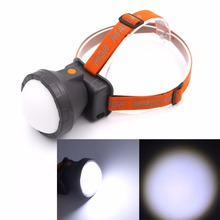 New Arrive Brightness LED Headlamp Head Light 3 Modes Waterproof Built-in Rechargeable Batteries Cycling Fishing Headlight