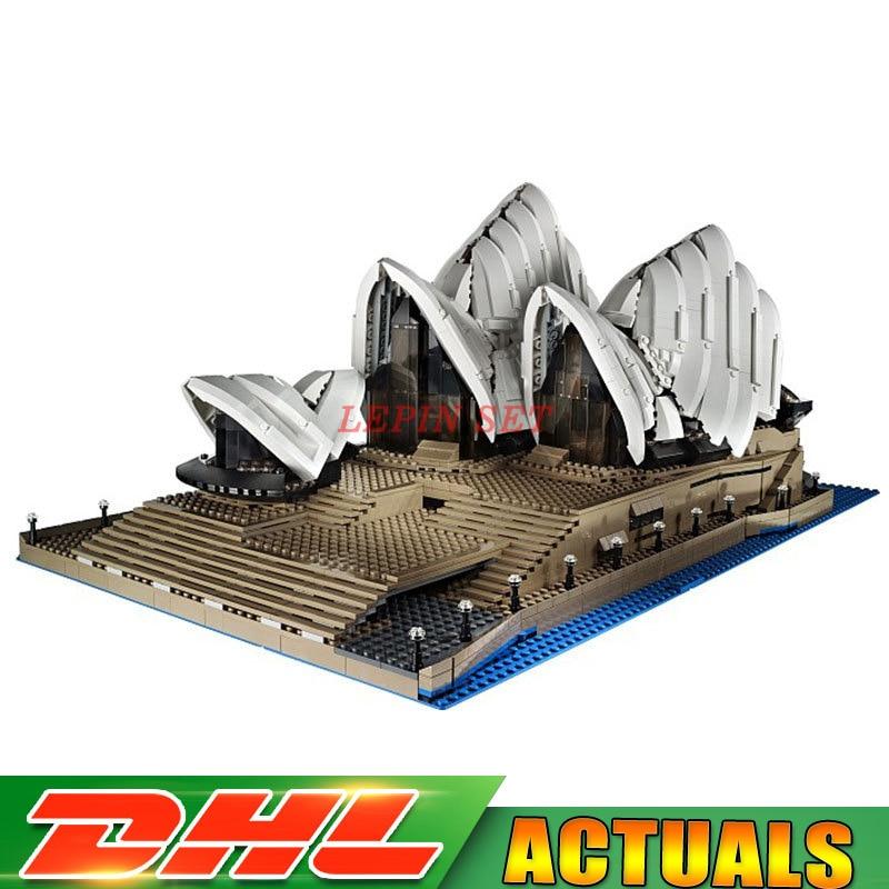LEPIN toys 17003 Creator Expert Sydney Opera House 2989pcs Building Blocks Australia's Architectural Compatible with LegoINGlys bryan adams live at sydney opera house blu ray
