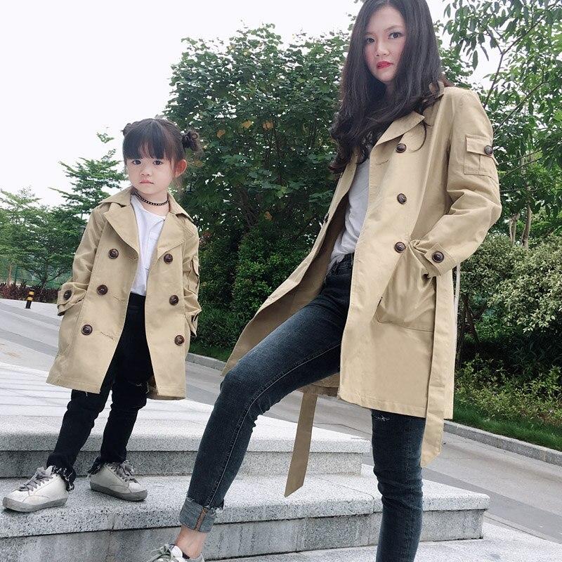 ANKRT 18 automne et d'hiver nouvelle vêtements pour enfants, garçons et filles, long coupe-vent, enfants de étanche jacket.12M-7 T/M/L