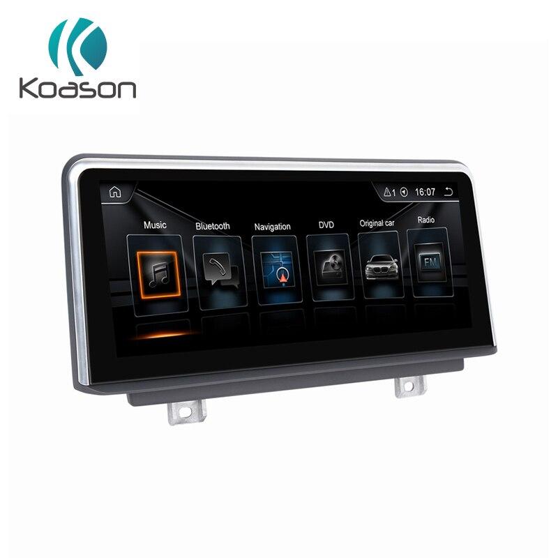 Koason Android 8.1 lecteur vidéo stéréo multimédia de voiture PX6 Six cœurs CPU 10.25 pouces pour BMW X3 2018 EVO véhicule GPS Navigation