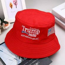 Панама в стиле унисекс акции президент Дональд Трамп держать Америку Великий Снова шляпа красная Панама