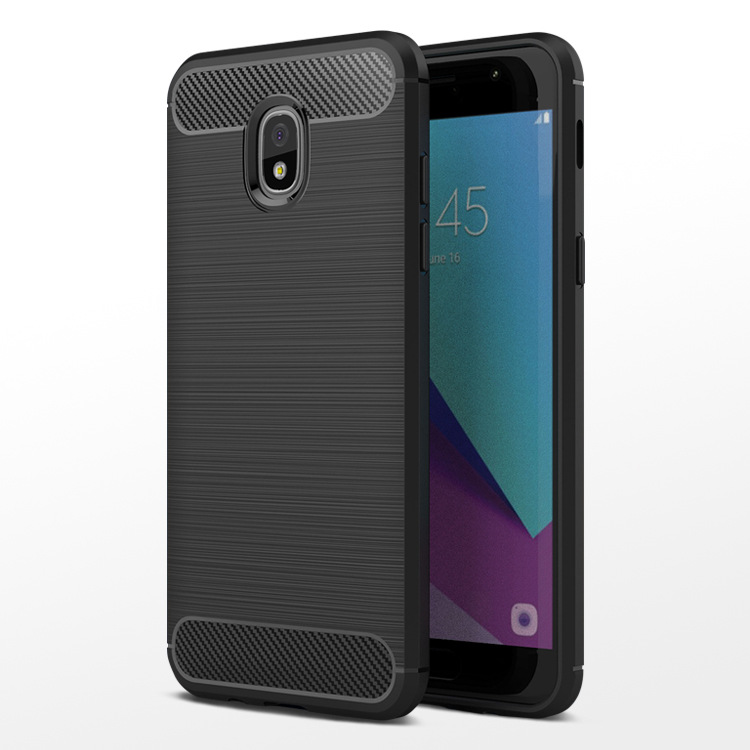 For Samsung Galaxy J7 2017 EU case Shockproof Carbon Fiber Soft tpu cover case for Samsung Galaxy J7 PRO J730 Fundas Capa 5.5