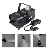 AUCD Mini 400W White Smoke Remote Control Smoke Fog Machine Stage Light Effect W400