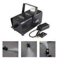 AUCD Mini 400W White Smoke Remote Control Smoke Fog Machine Stage Light Effect W400