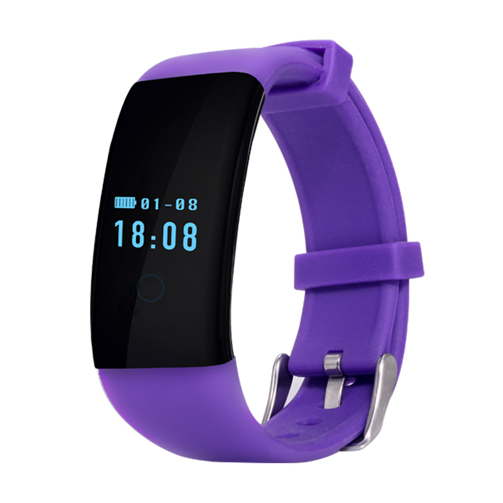 Heart Rate Monitor Smartband Wristband Waterproof Swim Smart Bracelet D21 Health Fitness Track for Android iOS
