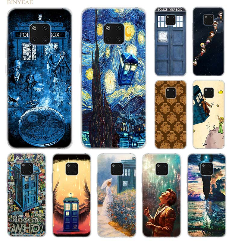 Cellphones & Telecommunications Box Doctor Who Van Gogh Case For Huawei Mate 20 10 Lite Pro 20lite 20pro Transparent Silicone Tpu Soft Coque Cover Phone Shell Invigorating Blood Circulation And Stopping Pains