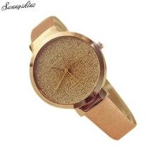 Woman Girl Luxury Watches Sands Starry Simple Temperament Quartz Waterproof wristwatch Clock wholesale