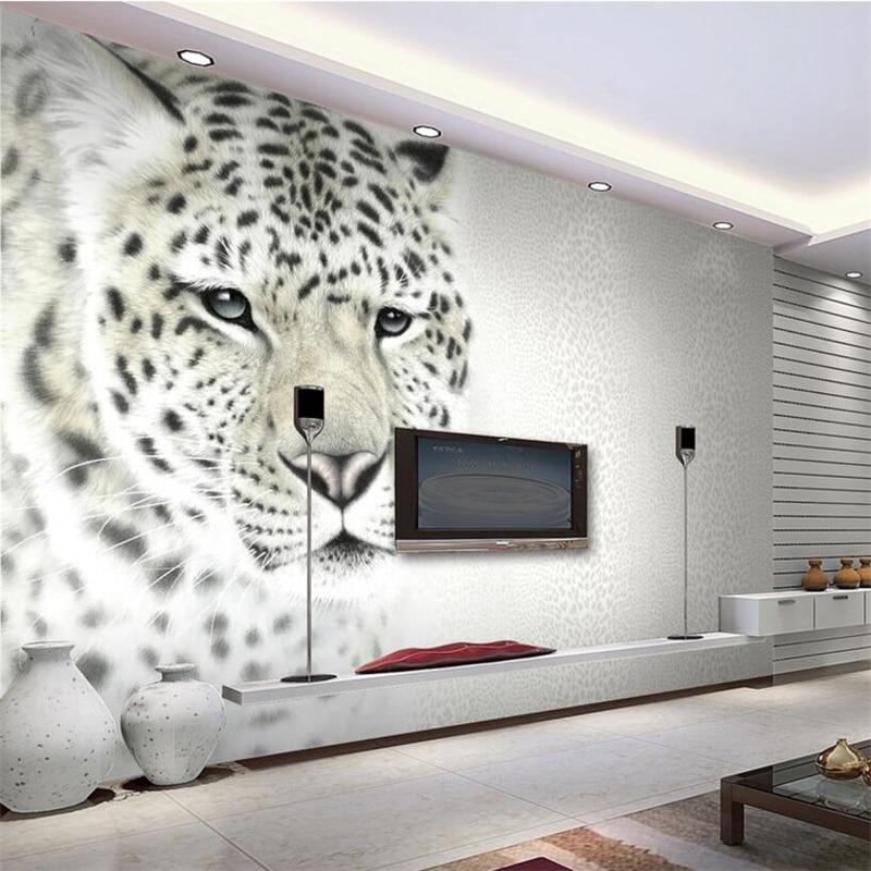 Online Kaufen Großhandel leopardenmuster tapete aus China ...