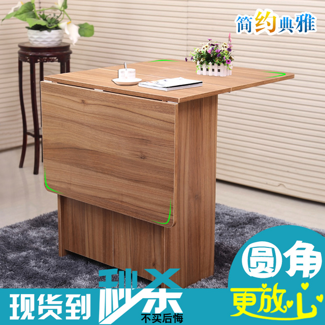 Folding Table Rectangular Small Apartment Minimalist Ikea Dining And Simple Home Dinner