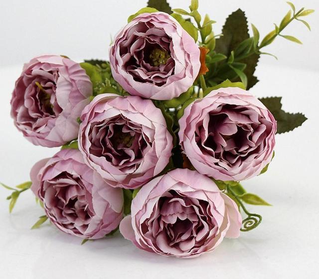 Wholesale Price 2pc/lot Bonsai flower arrangement simulation bouquet ...