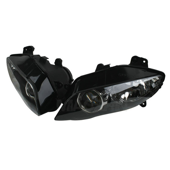 Motorcycle Front light Assembly HEADLIGHT HEAD LIGHT LAMP For YAMAHA YZF R1 YZF 1000 R1 2004 2005 2006 Clear