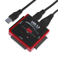 5Gb/s High Speed USB 3.0 to SATA/IDE Hard Drive Disk Converter for Laptop 2.5 3.5 Desktop PC HDD/SSD Optical Drive
