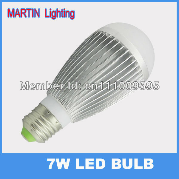 7W E27 led globe bulbs smd high power 750lm spot energy saving bubble ball bulb lamp