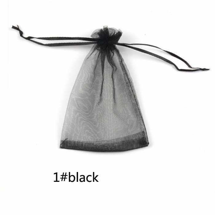 الأورجانزا الحلوى مربع أكياس للضيوف حقيبة صغيرة للمجوهرات هدايا الزفاف عيد ميلاد حزب اللوازم الحرفية DIY استحمام الطفل الصلبة Wh