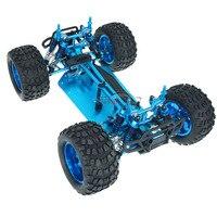 1/10 RC 4WD модель игрушки автомобиль внедорожник багги Грузовик Monster Bigfoot металлическая пустая рамка бесщеточная версия Неограниченное HSP 94111