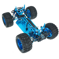 1/10 RC 4WD Model Toys Car Off road Vehicle Buggy Monster Bigfoot Truck Metal Empty Frame Brushless version Unlimited HSP 94111