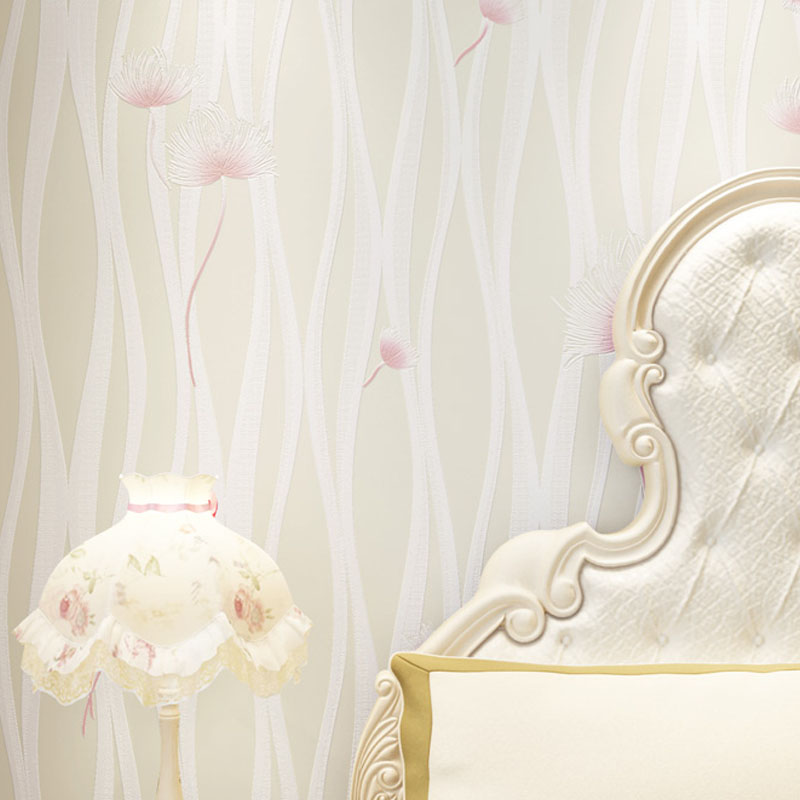 Modern 3D Wallpaper Roll Rustic Floral Wall Paper Non-woven Wall Paper for Walls Wallpapers Flower for Girl's Room Bedroom Walls цена 2017