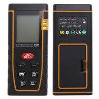 262ft Laser Distance Meter Area Volume Calculation Range Finder Measurement Tool LCD Measure Laser Distance Meter
