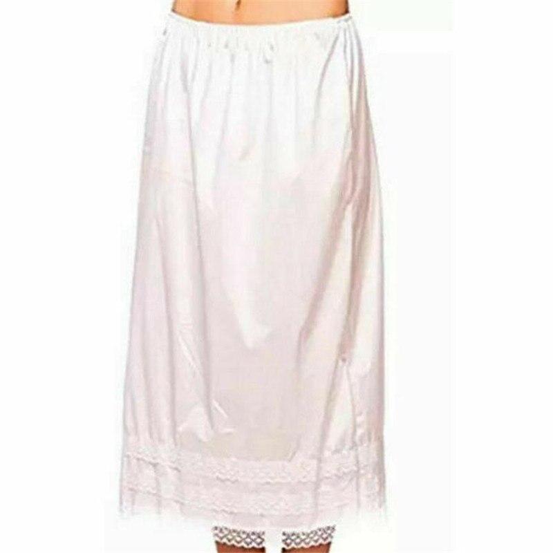 M//L Women Waist Intimate Half Slip Swing Long Skirt Petticoat Half Slips Dresses