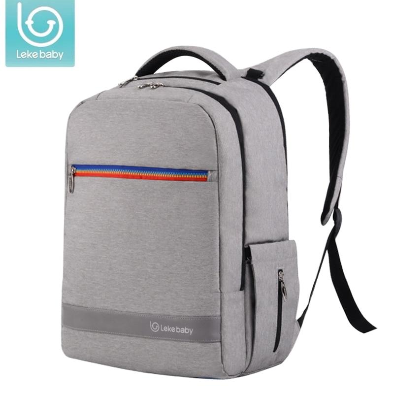 купить Lekebaby baby Diaper bag pushchair Stroller bag maternity nappy diaper backpack Travel Bag fashion mother Organizer for Baby Car по цене 2519.31 рублей