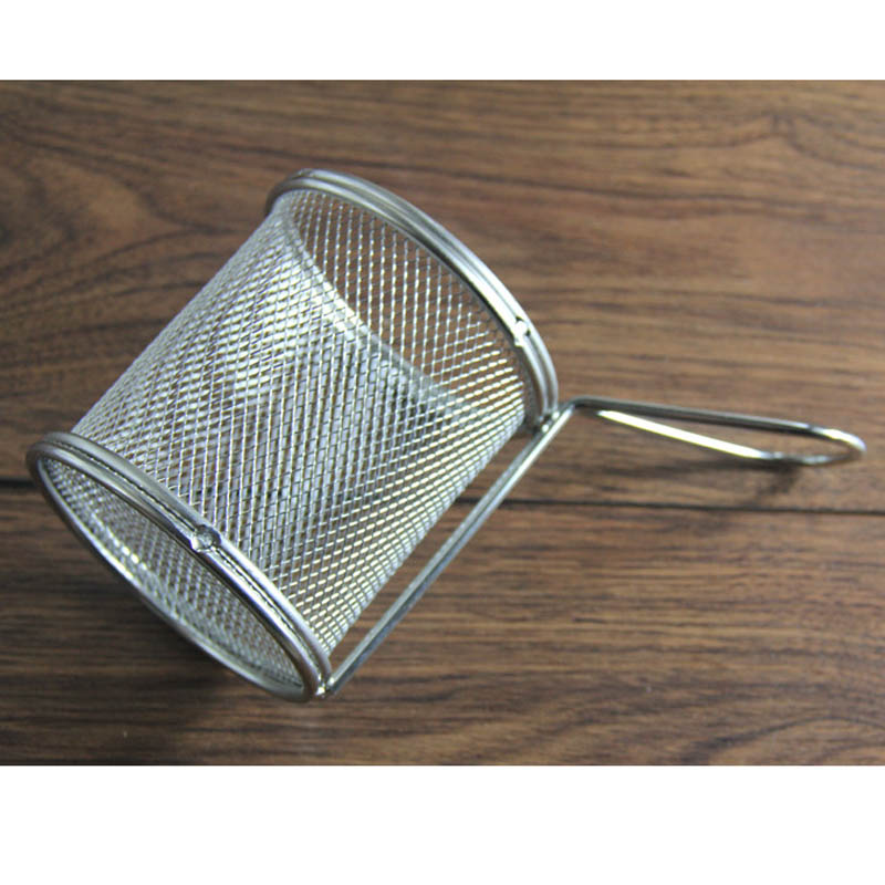 New Single Serving Fry Basket Stainless steel Wire Mesh Noodle ...