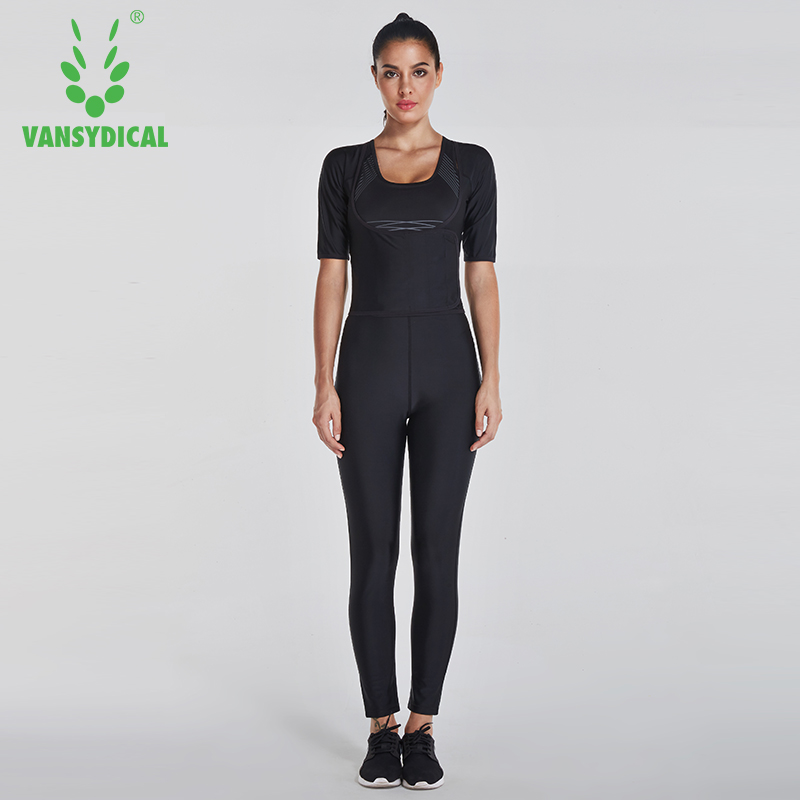 2017 Vansydical SweatShirt  Women Sportswear  Sports Suits Fitness Gym Running Quick Dry Yoga SweatShirt Gym Clothes Suit 3pcs quick drying gym sports suits breathable suit compression top quality fitness women yoga sets two pieces running sports shirt