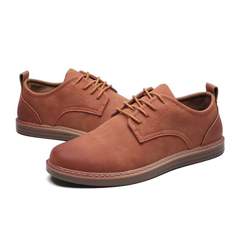 fashion leather casual shoes men comfortable leisure moccasins cheap dress male footwear work elegant boy oxford shoes for m (10)