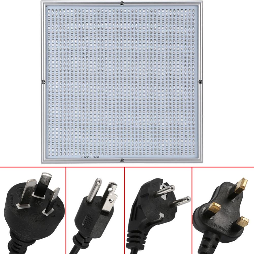 ФОТО Hot Sale New 120W 85-265V 1365 LED Grow Light Panel Lamp Higher Quality for Plant Flower Graden Room