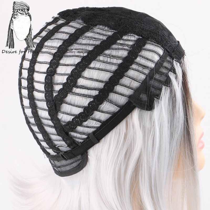 Desire for hair 1 шт. 12 дюймов Омбре черный 27 #613 # фортепиано цвет термостойкие Боб Стиль Синтетические парики для женщин и девочек