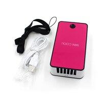 แบบMini USBพัดลมเครื่องปรับอากาศพัดลมระบายอากาศสำหรับกาวต่อขนตาได้อย่างรวดเร็วแห้งทาบขนตาทุ...