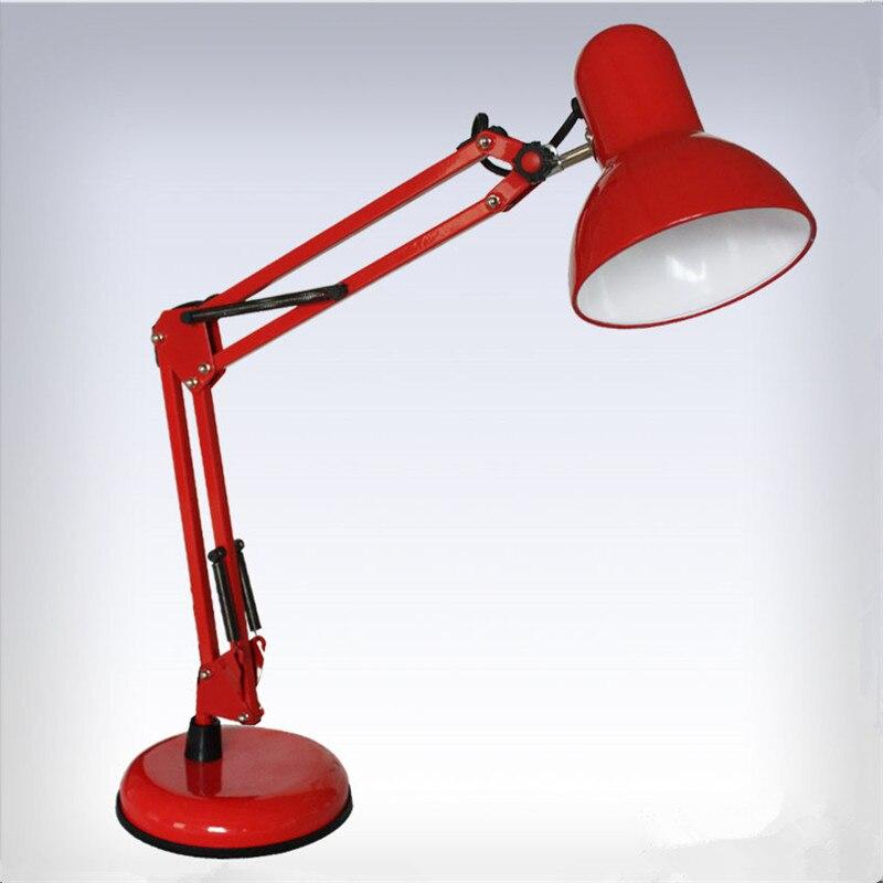 Exceptionnel Red Desk Lamps Adjustable Clip Table Lights Bedside Desktop LED Table Lamp  Bedroom Office Light Libraly Shop Industrial Lighting In Desk Lamps From  Lights ...