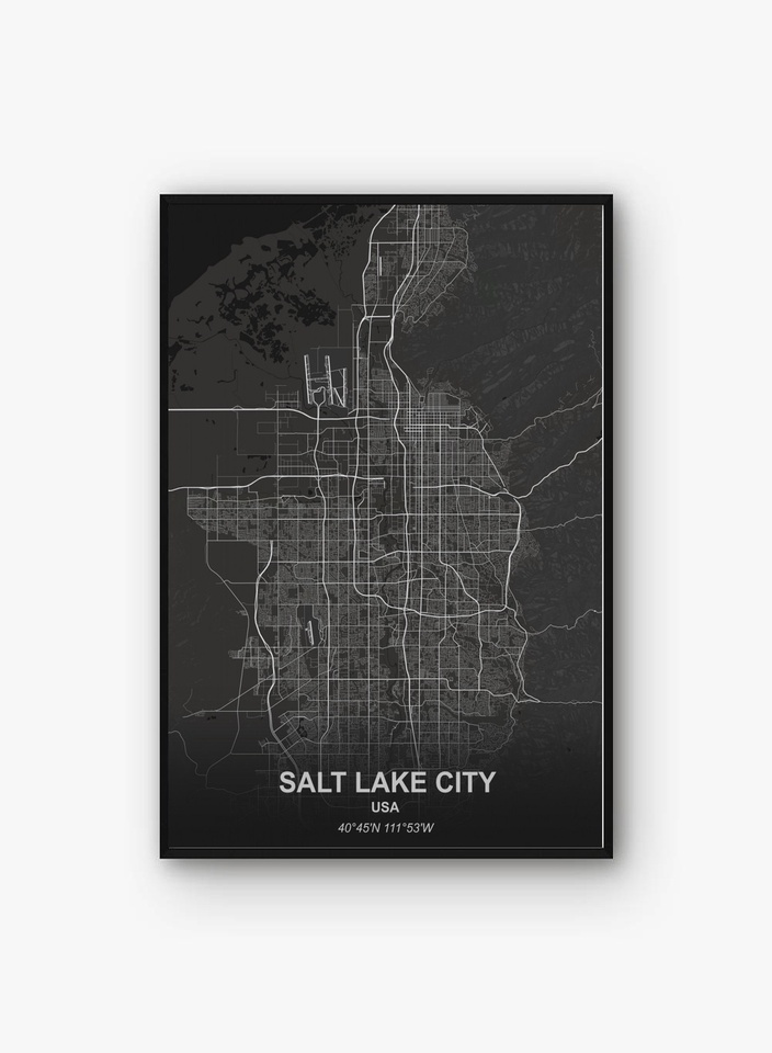 salt lake city san antonio san diego san francisco santiago sao paulo poster canvas art prints painting wall picture painting calligraphy aliexpress aliexpress