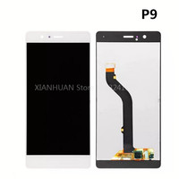 XIANHUAN Original Quality White LCD Display Glass Panel For Huawei P9 Free Delivery