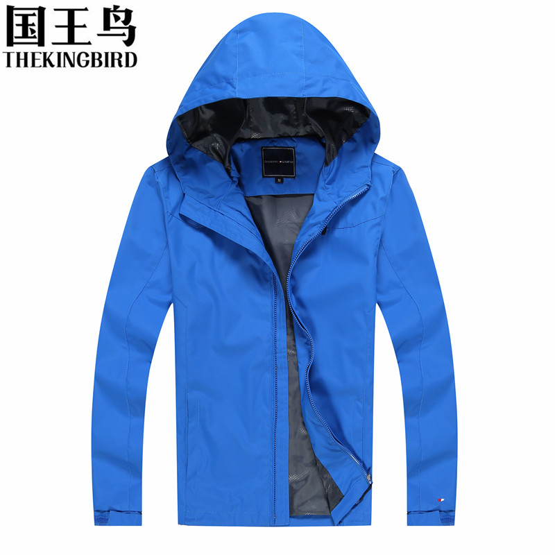 Outdoor Jackets Spring and Autumn Men's Outdoor Jackets Wind and waterproof Hooded Mountain climbing camping hunting clothes blog flashlight outdoor 5led pocket strong waterproof 8 hours to illuminate mountain climbing camping p004