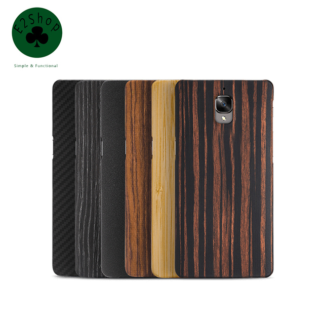 100% Original Oneplus 3 3T One Plus 3 3T Back Cover Case for Oneplus Three A3003 A3010 Hard PC Wood Protective Shell Fundas Capa