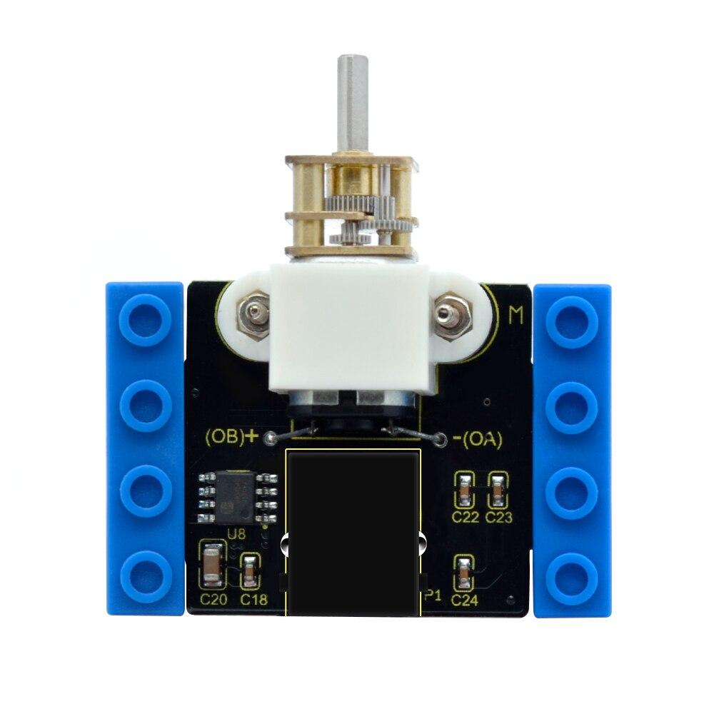 Image 5 - Kidsbits блоки кодирования N20 моторный модуль для Arduino пара EDU (черный и экологически чистый)-in Доски для показов from Компьютер и офис on AliExpress - 11.11_Double 11_Singles' Day