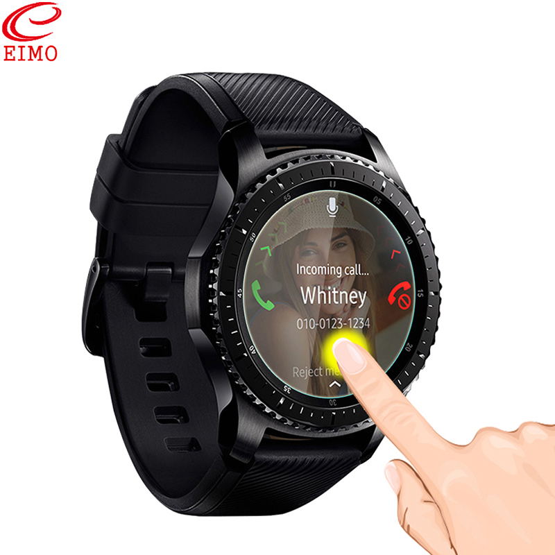 EIMO Gear S3 Frontier Film for Samsung galaxy watch 46mm smart watch Screen Protector Film Explosion-proof Glass Accessories