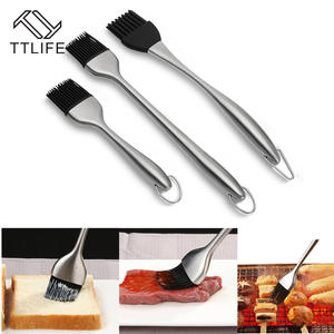 TTLIFE Silicone Brushes BBQ Oil Cooking Tools