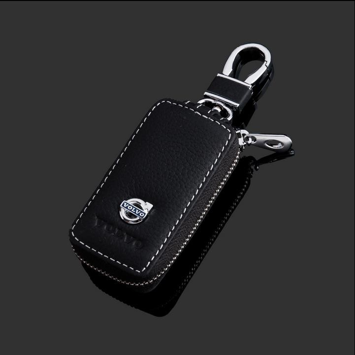2016-New-luxurious-Design-Auto-Key-Wallet-For-Volvo-Fashion-Leather-car-key-case-cover-for