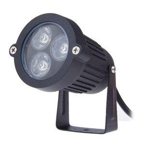 Image 4 - 220V 110V Outdoor LED Garden Lawn Light 9W Landscape Lamp Spike Waterproof 12V Path Bulb Warm White Green Spot Lights