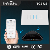 Broadlink TC2 US AU Standard Touch Light Switch Smart Home Automation Wireless Remote Control Wall Switch
