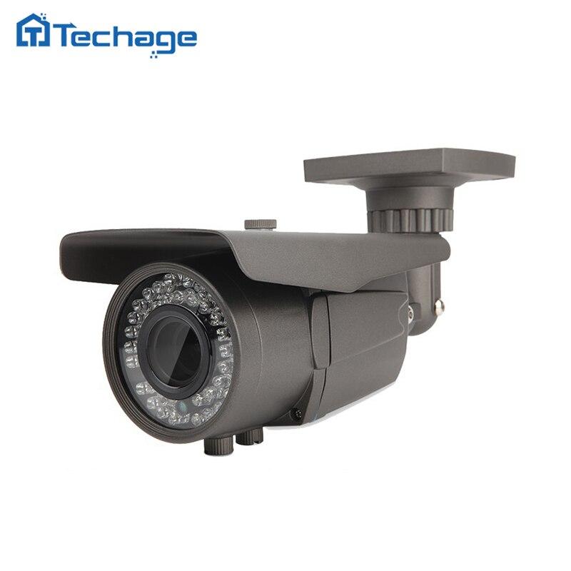 bilder für Techage 2,8-12mm Vario-objektiv CCTV 48 V POE Ip-kamera 2.0MP 4.0MP IR Im Freien Wasserdichte ONVIF P2P Überwachungskamera