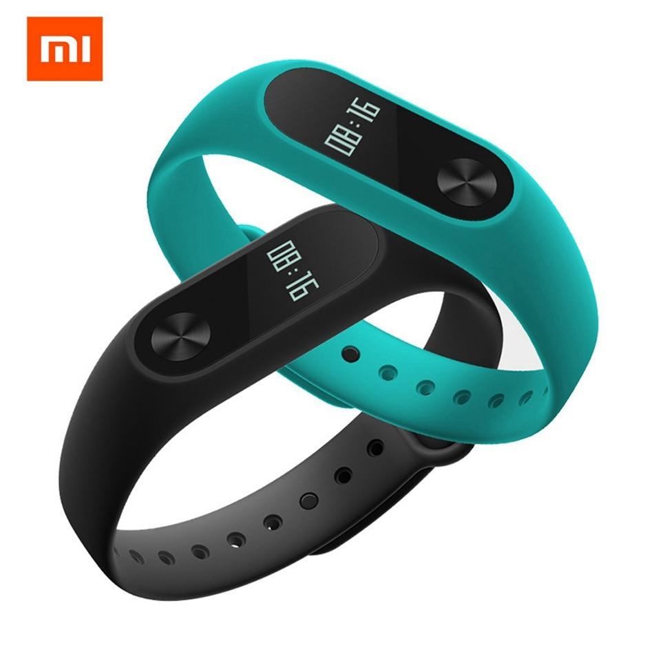 Xiaomi Miband Mi band 2 Smart Band Bracelet Heart Rate Monitor Pedometer Fitness Tracker Sport Wristband Men Women Bluetooth