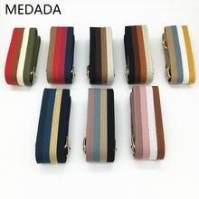 Нейлоновый ремень medada цветная сумка широкий аксессуары ручки